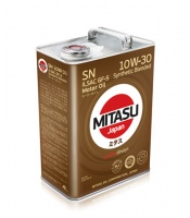 Japoński olej: MJ-121 MITASU MOTOR OIL SN 10W-30 ILSAC GF-5 Synthetic Blended