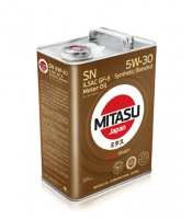 Japoński olej: MJ-120 MITASU MOTOR OIL SN 5W-30 ILSAC GF-5 Synthetic Blended